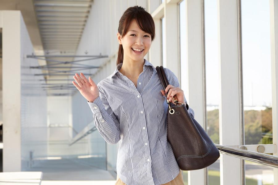 a-greetng-woman